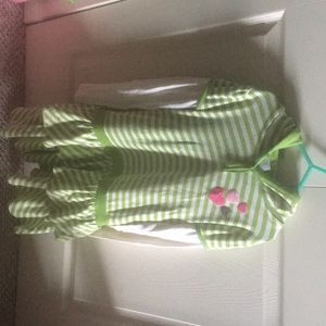 Size 9 girls Gymboree hooded dress.